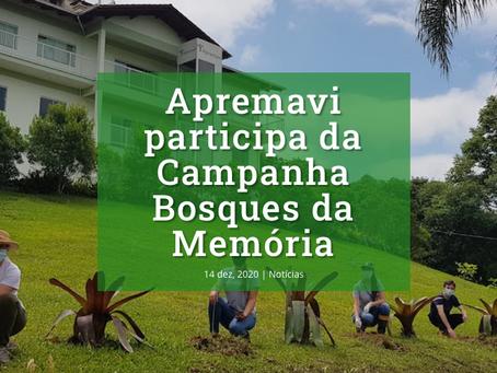 Apremavi participa da Campanha Bosques da Memória