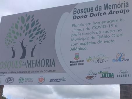 Prefeitura implanta Bosque da Memória em Teófilo Otoni