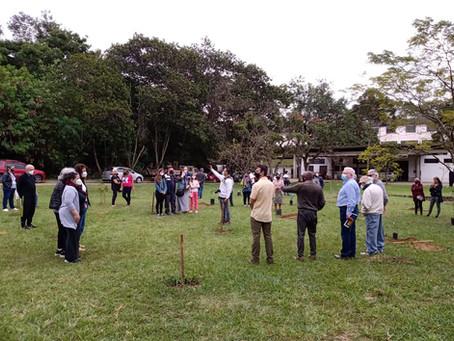 RESERVA DA BIOSFERA PLANTA MAIS ÁRVORES EM HOMENAGEM ÀS VÍTIMAS DA COVID-19