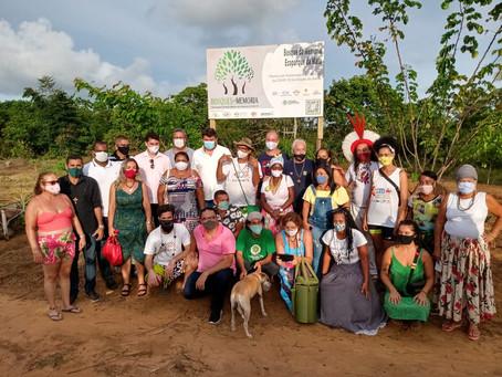 O primeiro Bosque da Memória da Bahia