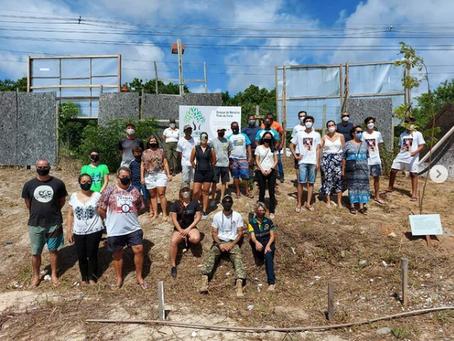 Mata de São João planta mudas em homenagem às vítimas do coronavírus
