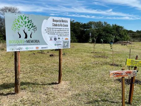2º plantio  do Bosque da Memória Cidade do Rio Grande/RS