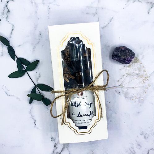 White Sage & Lavender Linen Spray