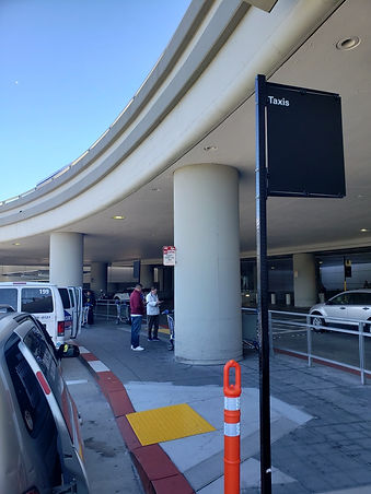 Pickup Location International SFO