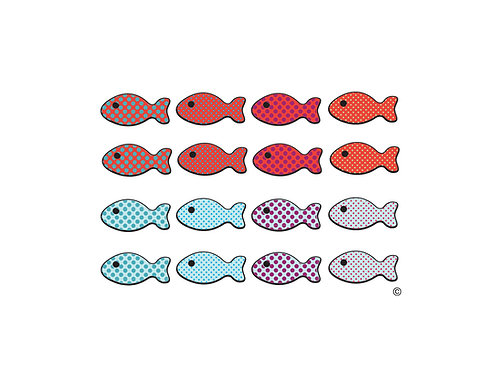 Fish Band RED