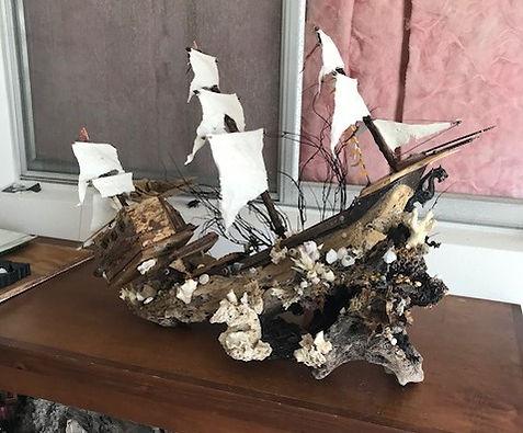 Driftwood Art Creations Dragon Ship