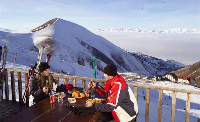 Palendoken mountain top