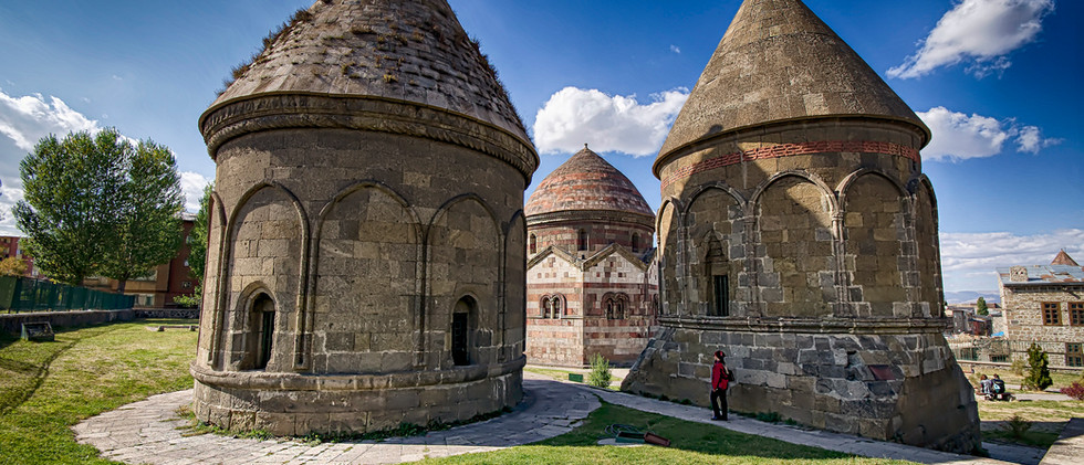 The Three Tombs in Erzurum