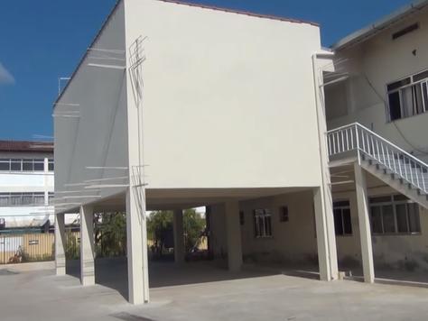 CERCI constrói prédio anexo com dinheiro de vendas de sucata.