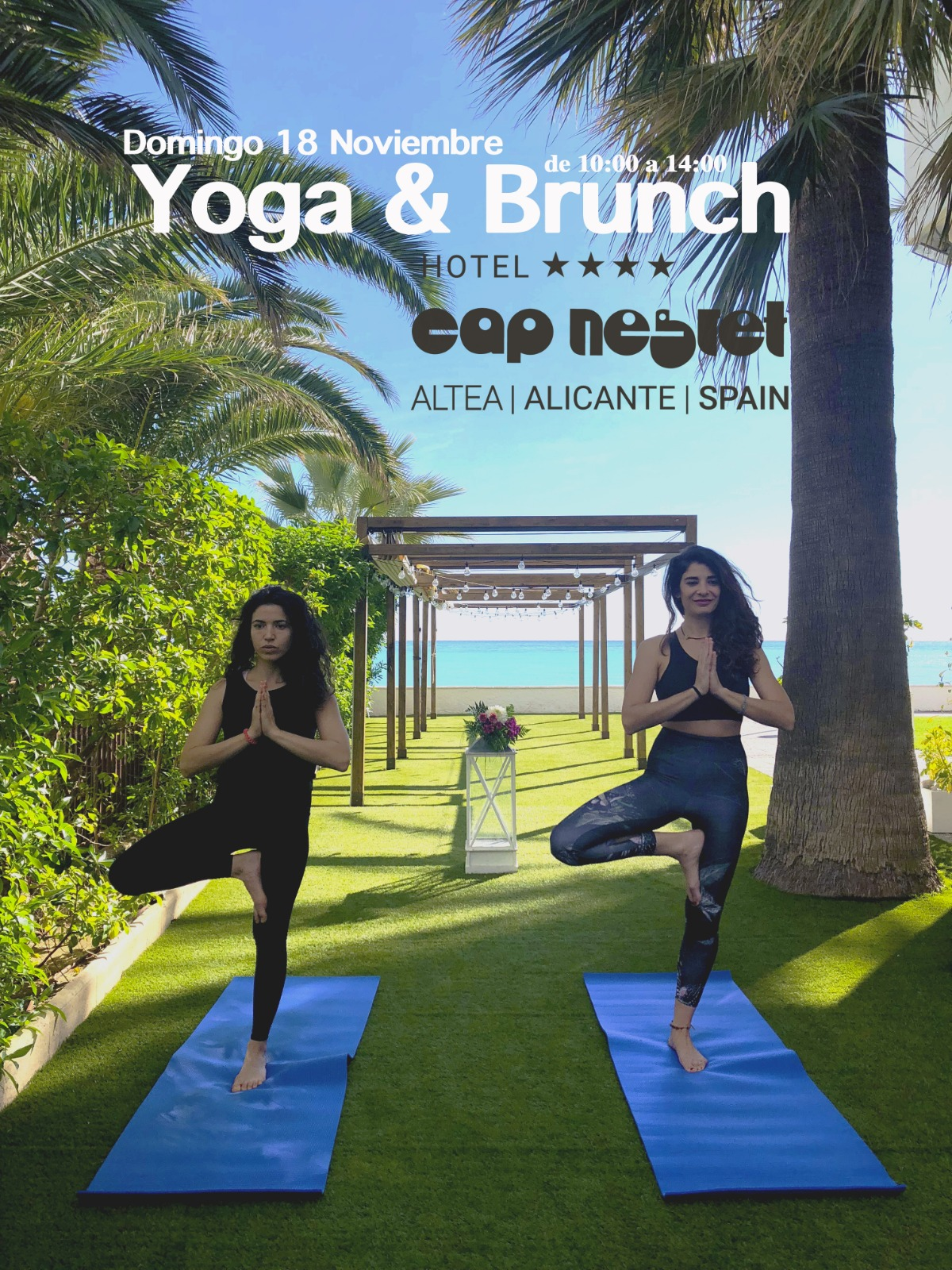 Yoga & Brunch Cap Negret