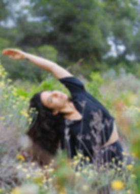 Maria yoga sobre mi