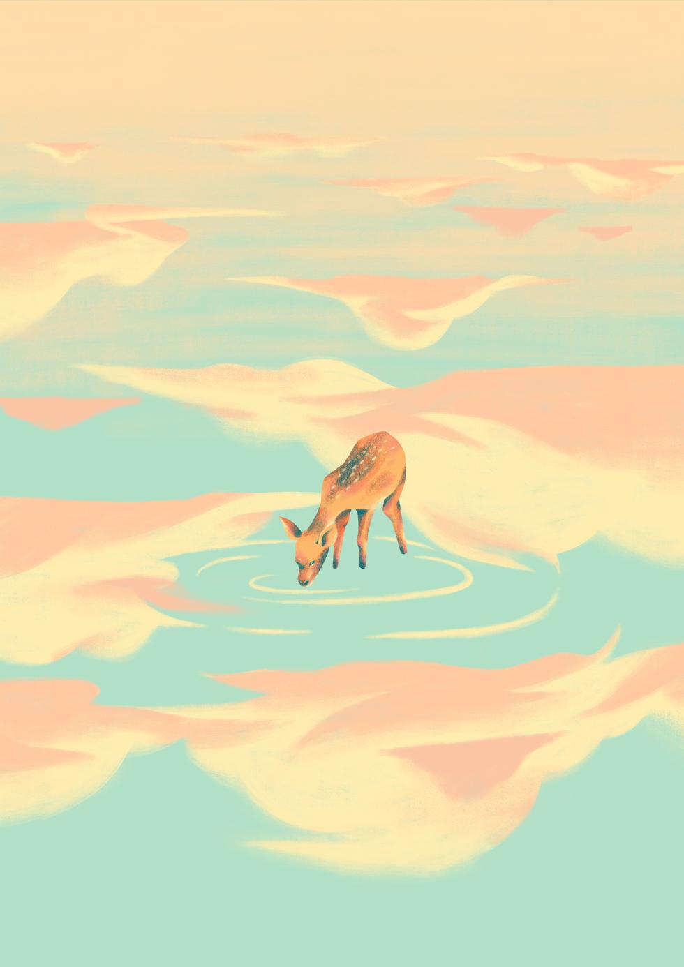 As The Deer Print