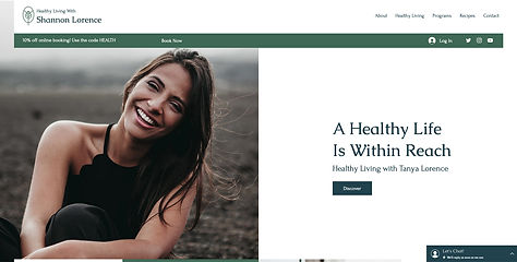 Website Design for Health Services