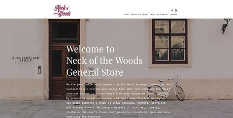 Website Design For Shop