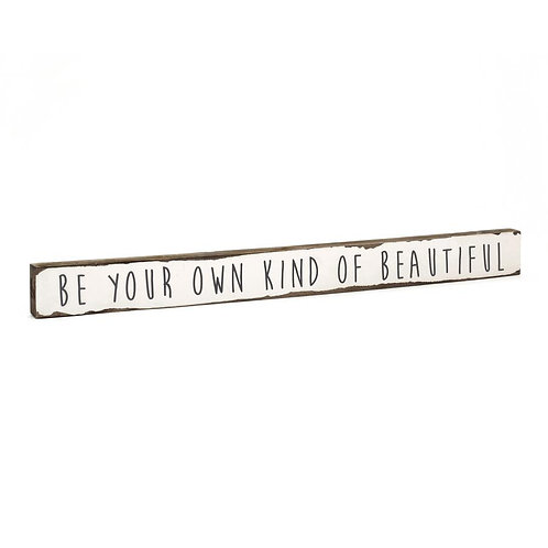 """Own Kind of Beautiful"" Timber Truth"