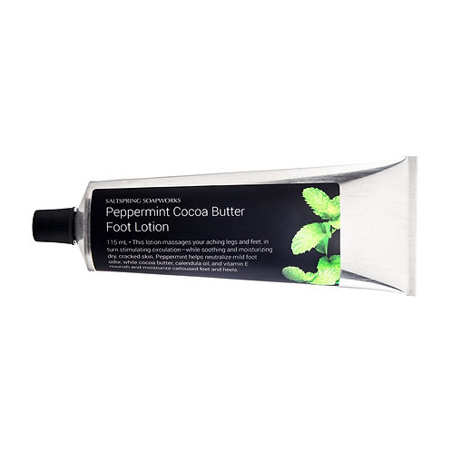 Peppermint Cocoa Butter Foot Lotion