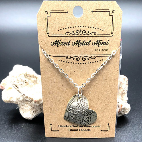 Simple Silver Necklace