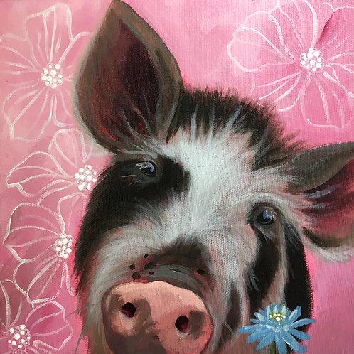 """Franklin"" Original Acrylic Painting"