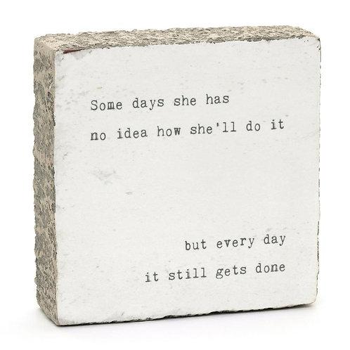 """Some Days' Mini Art Block"