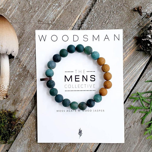 "Men's ""Woodsman"" Bracelet"