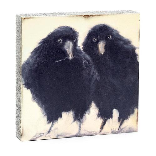 """""""Raven Nesters"""" Mini Art Block"""