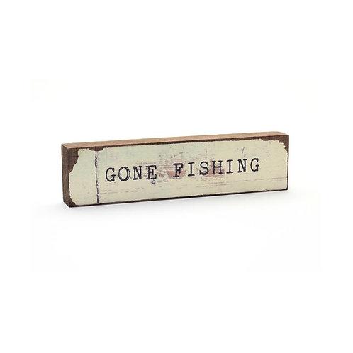 """""""Gone Fishing"""" Timber Bit"""