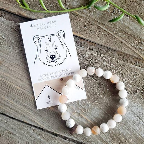 "Women's ""Spirit Bear"" Bracelet"
