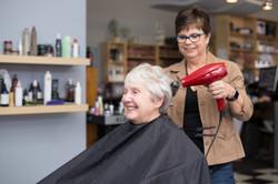 Woman's haircut @ High Street Hair