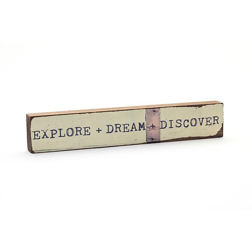 """Explore + Dream + Discover"" Timber Bit"