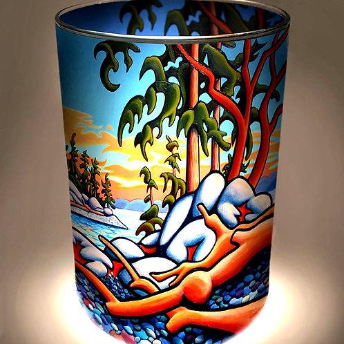 """""""Ebb & Flow"""" Candle Holder"""