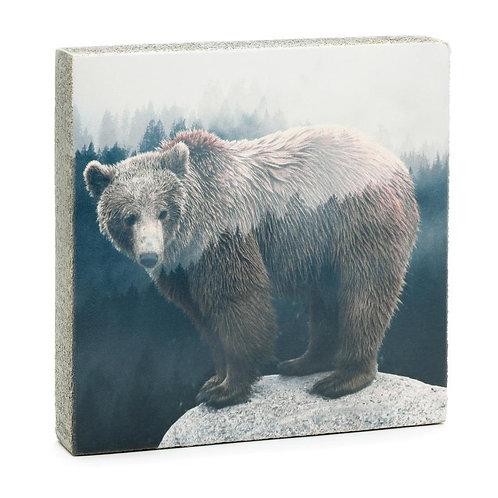 """Forest Bear"" Mini Art Block"