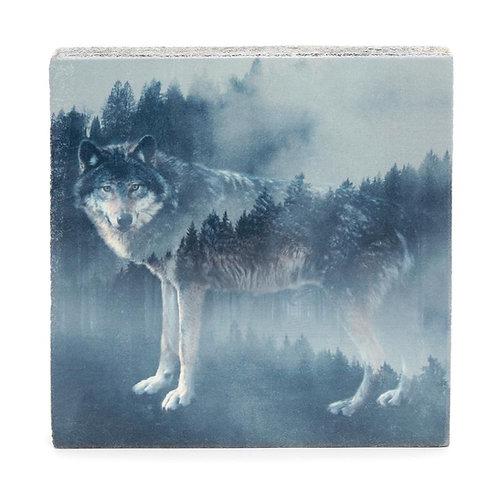 """Forest Wolf"" Mini Art Block"