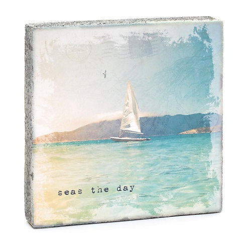 """Seas the Day"" Mini Art Block"