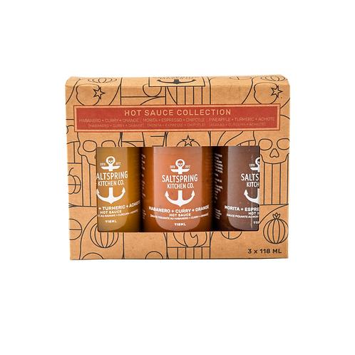 Hot Sauce Trio Collection