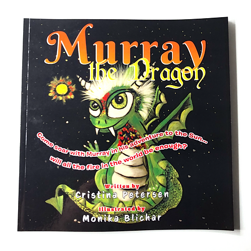 """""""Murray the Dragon"""" Childrens Book"""