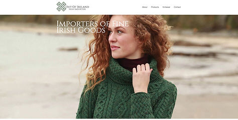 Website Design for Irish Importer