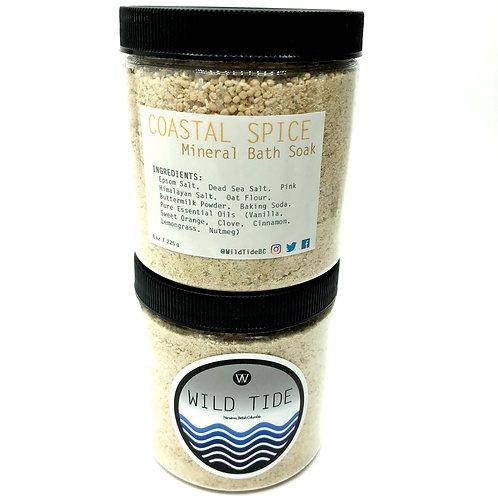 """Coastal Spice"" Mineral Bath Soak"