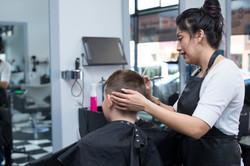 Child's haircut @ High Street Hair