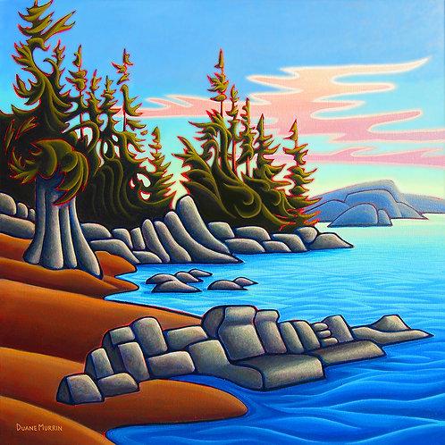 """Vancouver Island"" Wall Plaque"