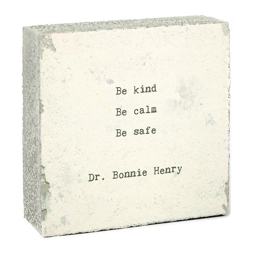 """Dr. Bonnie Henry"" Mini Art Block"