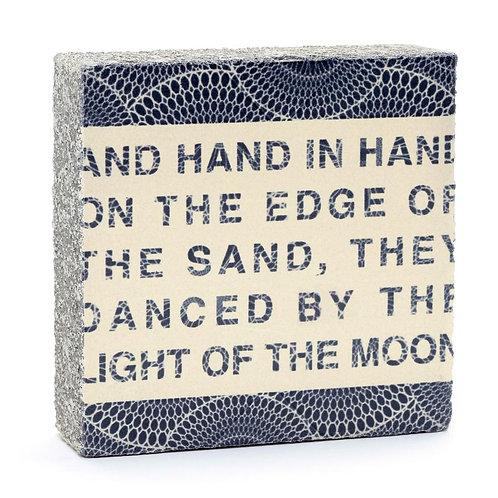 """""""Hand in Hand"""" Art Block"""