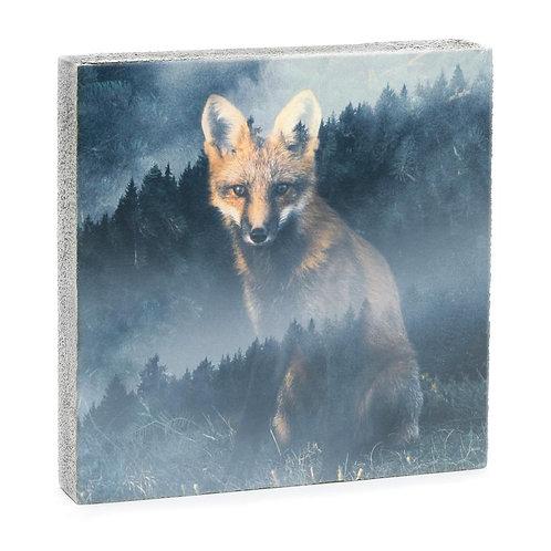 """""""Forest Fox"""" Mini Art Block"""