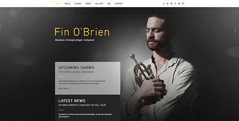 Website Design For Musician