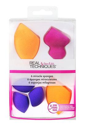 6 Miracle Sponges