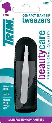 Compact Slant Tip Tweezers