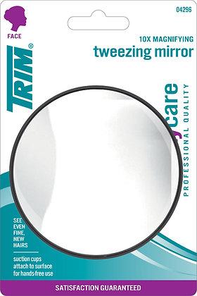 10x Magnifying Tweezing Mirror