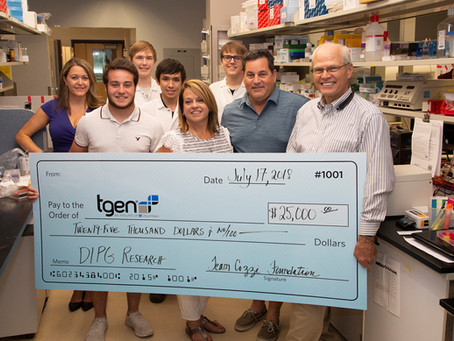 TGEN OPENS DIPG TISSUE DONATION PORTAL TO ACCELERATE RESEARCH