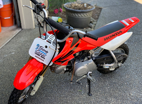 Honda 50 / #TeamCozzi Benefit Night Item up for Bid