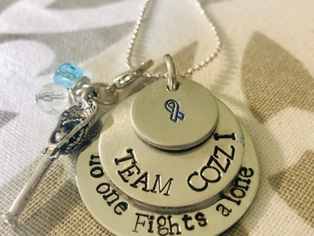 Team Cozzi Jewelry made for our Benefit Auction