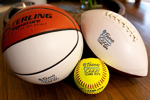 Team Cozzi Logo Basketball, Football, or Softball by Sterling